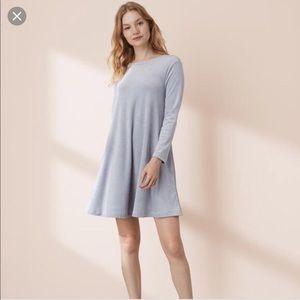 Lou & Grey Velvet Swing Dress